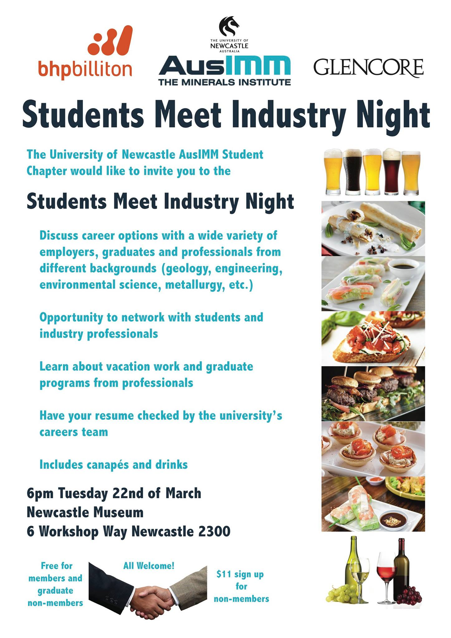 AusIMM Student Meet Industry Night