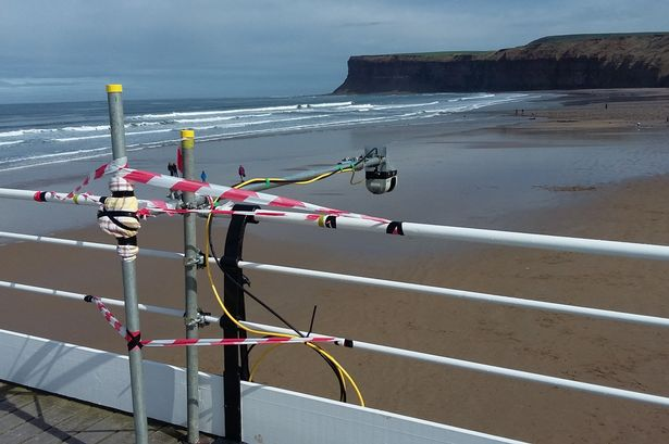 Scientists have been using Saltburn Pier for research – here's why
