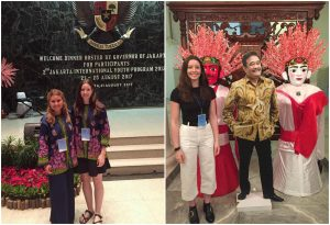 Tully Hambridge at the Jakarta International Youth Program