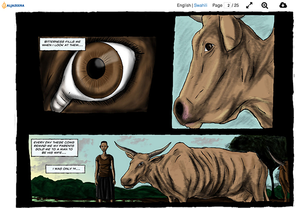 Page 2 of Graphic Novel: Cash Cow